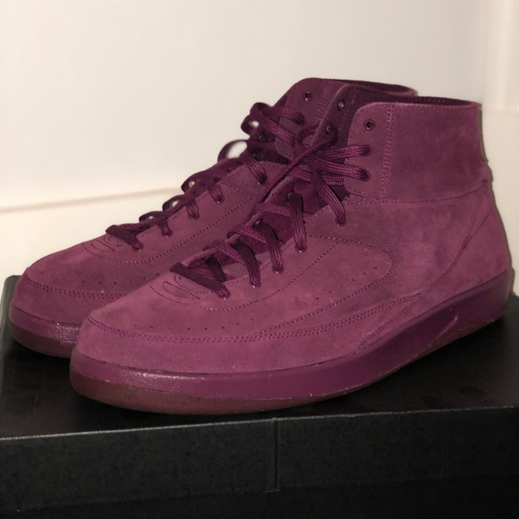 brand new 74373 da7a7 Air Jordan 2 Deconstructed Bordeaux NWT